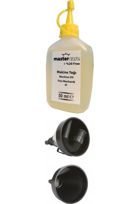 Mastercare 16 cm Profesyonel Filtreli Huni + Makine Yağı 711688