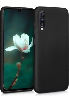 Lorexpress Samsung Galaxy A70 Premium Rubber Mat Silikon Kılıf-Siyah