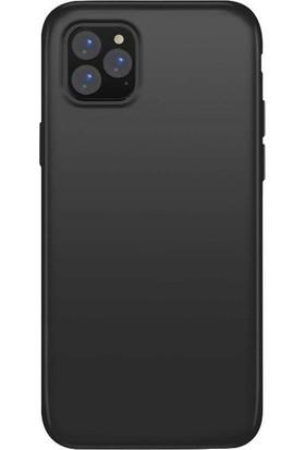 Lorexpress Apple iPhone 11 Pro Max Premium Rubber Mat Silikon Kılıf- Siyah
