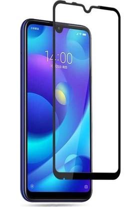 Teleplus Xiaomi Mi A3 Tam Kapatan Cam Ekran Koruyucu Siyah