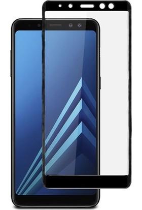 BlitzPower Samsung Galaxy A8 Plus 2018 6D Tam Kaplayan Nano Glass Nano Ekran Koruyucu