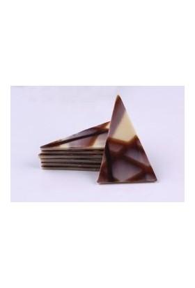 Barlo Chocolate Bitter Desenli Üçgen Çikolata