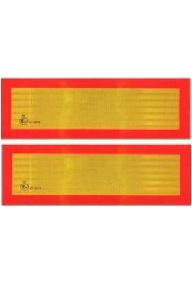 PAKKENS İşaret Levhası Tır Reflektörü Takım(Aliminyum Tabanlı)Pakkens