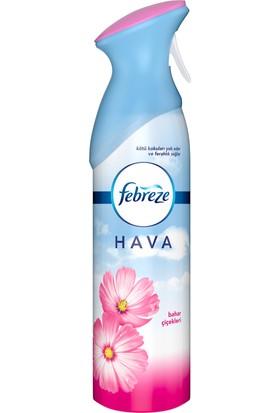 Febreze Hava Ferahlatıcı Sprey 2x300 ml Fırsat Paketi Oda Kokusu Bahar Çiçekleri