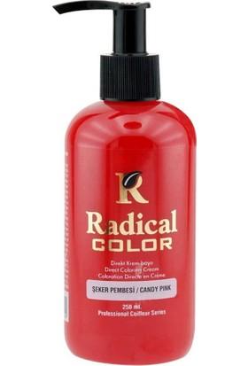 Radical Color Su Bazlı Saç Boyası Şeker Pembesi 250 ml