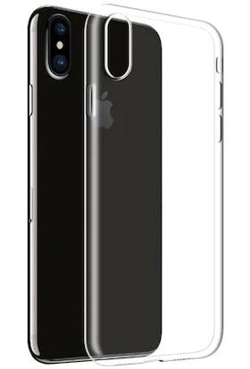 Pengu Apple iPhone X/XS Ultra İnce Silikon Kılıf - Şeffaf