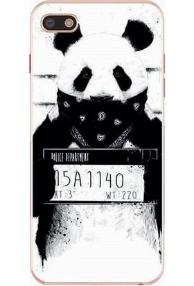GoGo General Mobile Gm9Go Suçlu Panda Baskılı Silikon Kılıf