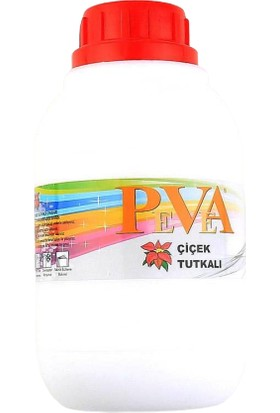 PVA Şeffaf Çiçek Tutkalı Hobi Yapıştırıcı Polimer Tutkal 500 gr