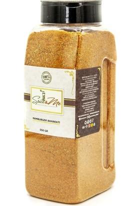 Spiceandme Hamburger Baharatı Tuzluk Kapak 550 gr