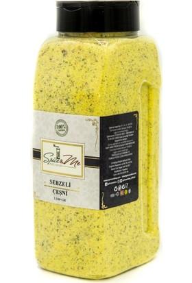 Spice&Me Sebzeli Çeşni Tuzluk Kapak (1100 Gr)