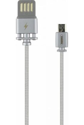 Remax RC-064M Micro USB Data ve Şarj Kablosu - Gümüş