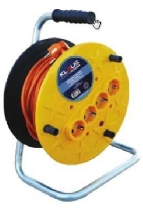 Klaus Makaralı Kablo Açık Tip 20Mt 3X2,5 Mm Klaus