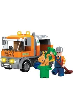 Furkan Toys F-Blocks Ctiy Serisi 167 Parça FR37449
