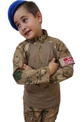Erteks Jandarma Çocuk Asker Kıyafeti