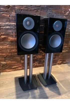 Monitor Audio Silver 100 Siyah Raf Tipi Hoparlör - Siyah