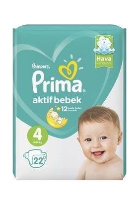 Prima Bebek Bezi Aktif Bebek 4 Beden
