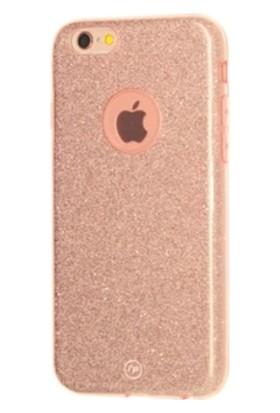 Fshang Apple iPhone 7 Simli Kılıf - Rose