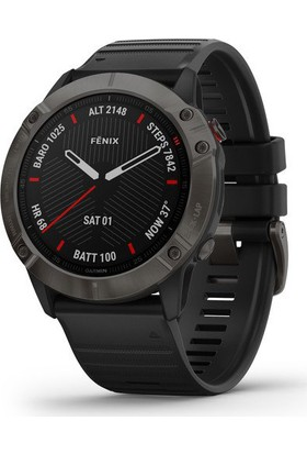 Garmin Fenix 6x Sapphire Akıllı Saat - Siyah