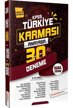 2020 Kpss Anayasa 30 Deneme | Türkiye Karması (Tamamı Çözümlü) - Beyza Oruç Erdoğmuş