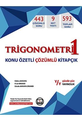 Yüzde Yüz Yayınları Trigonemetri 1 Konu Özetli Çözümlü