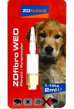 Zonaks Köpek Bit Pire Ense Damlası 1 - 10 kg 2 ml