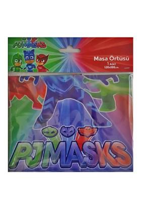 Balonevi Pj Mask Pija Maskeliler Temalı Masa Örtüsü