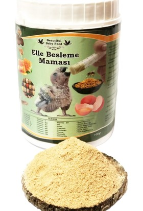 Beautiful Food Yavru Kuş Organik Elle Besleme Maması 700 g