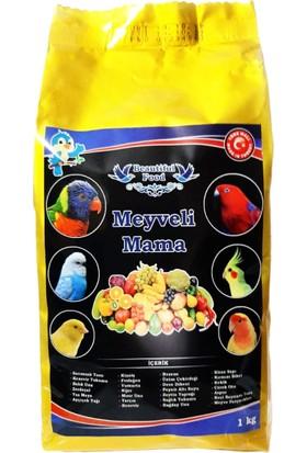Beautiful Food Meyveli Kuş Maması 1 kg