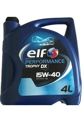 Elf Performance Trophy Dx 15W40 4 lt