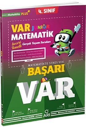 Arı Yayıncılık 4. Sınıf Var Junior Matematik Soru Bankası