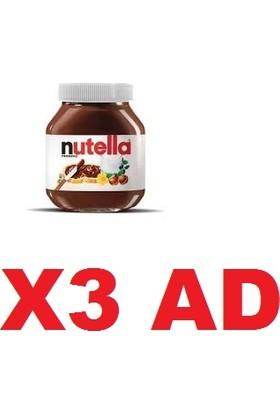 Nutella 750 gr 3'lü