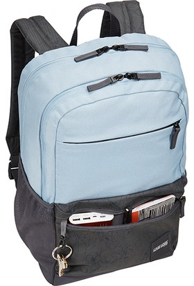 """Case Logic Uplink 15.6"""" Notebook Sırt Çantası Açık Mavi/ Gri CA.CCAM3116BG"""