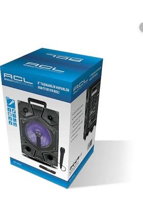 Acl 0012 Bluetooth / Sd / USB / Rec 20 W Taşınabilir Ses Sistemi