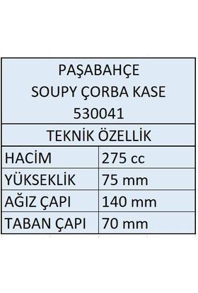 Paşabahçe 530041 Soupy Çorba Kasesi 275CC - 4 Adet