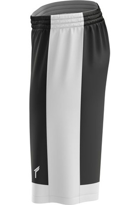 Freysport Basketbol Şortu Siyah Beyaz