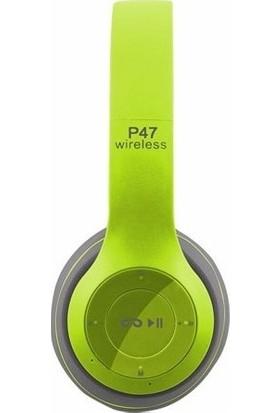 Okyanus P-47 Bluetooth Kulaklık Yeşil