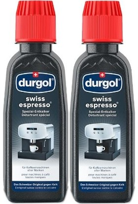 Dungol Durgol Kahve ve Espresso Makinası Kireç Sökücü Isviçre Menşeili 2 x 125 gr