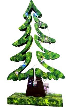 Masal Çam Ağacı Işıklı Minyatür