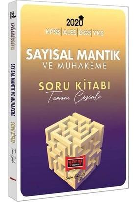 Yargı Yayınevi 2020 KPSS Ales DGS YKS İçin Sayısal Mantık Ve Muhakeme Tamamı Çözümlü Soru Kitabı