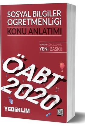 Yediiklim Yayınları 2020 ÖABT Sosyal Bilgiler Öğretmenliği Konu Anlatımı