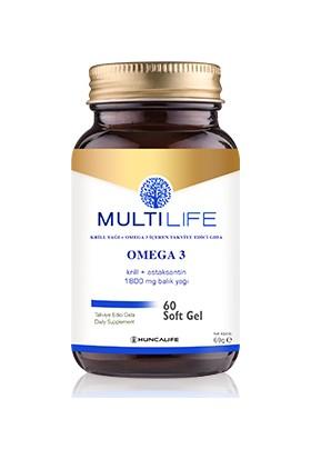 HUNCALIFE Multilife Omega 3 Softgel