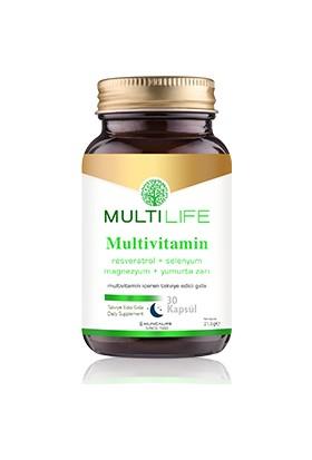 HUNCALIFE Multilife Multivitamin 30 Kapsül