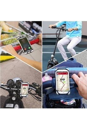 Vendas Bisiklet Motosiklet Telefon Tutucu - Turkuaz