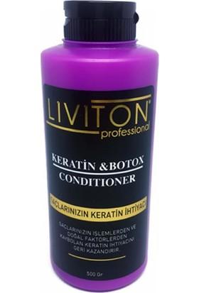 Liviton Cond 500 ml Keratin Bakım