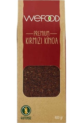Weefood Kırmızı Kinoa 400 gr