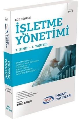 Murat Yayınları Açıköğretim 8011 1. Sınıf Güz Işletme Yönetimi Konu Anlatımlı Soru Bankası