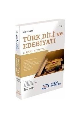 Murat Yayınları Açıköğretim 6131 2. Sınıf Güz Türk Dili ve Edebiyatı Konu Anlatımlı Soru Bankası