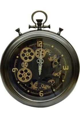 Crownwell Köstek Çarklı Duvar Saati
