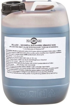 Acetum Blaze Balsamik Glaze Sosu 6.250 gr