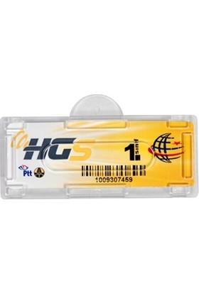 Oto Aksesuarcım HGS Etiket Kabı Şeffaf